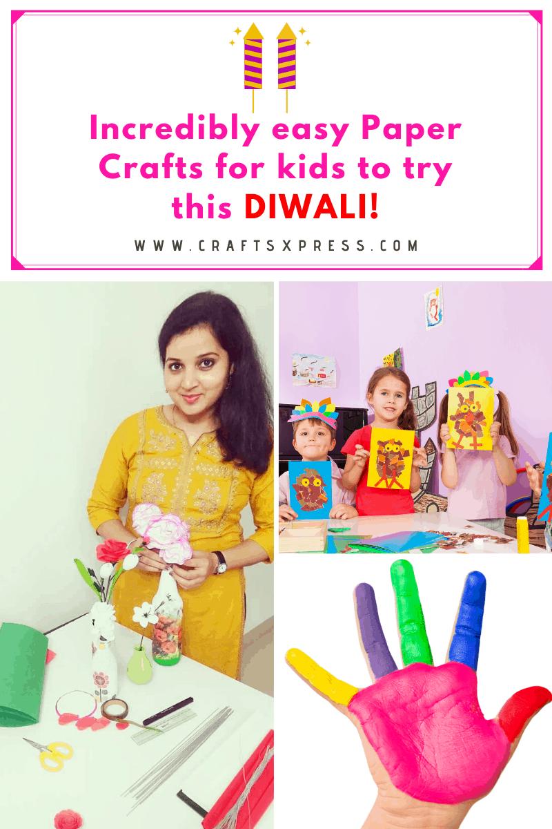 Diwali Paper Crafts for Kids