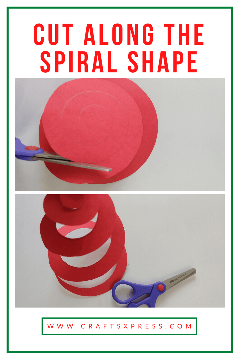 How to make small paper rose
