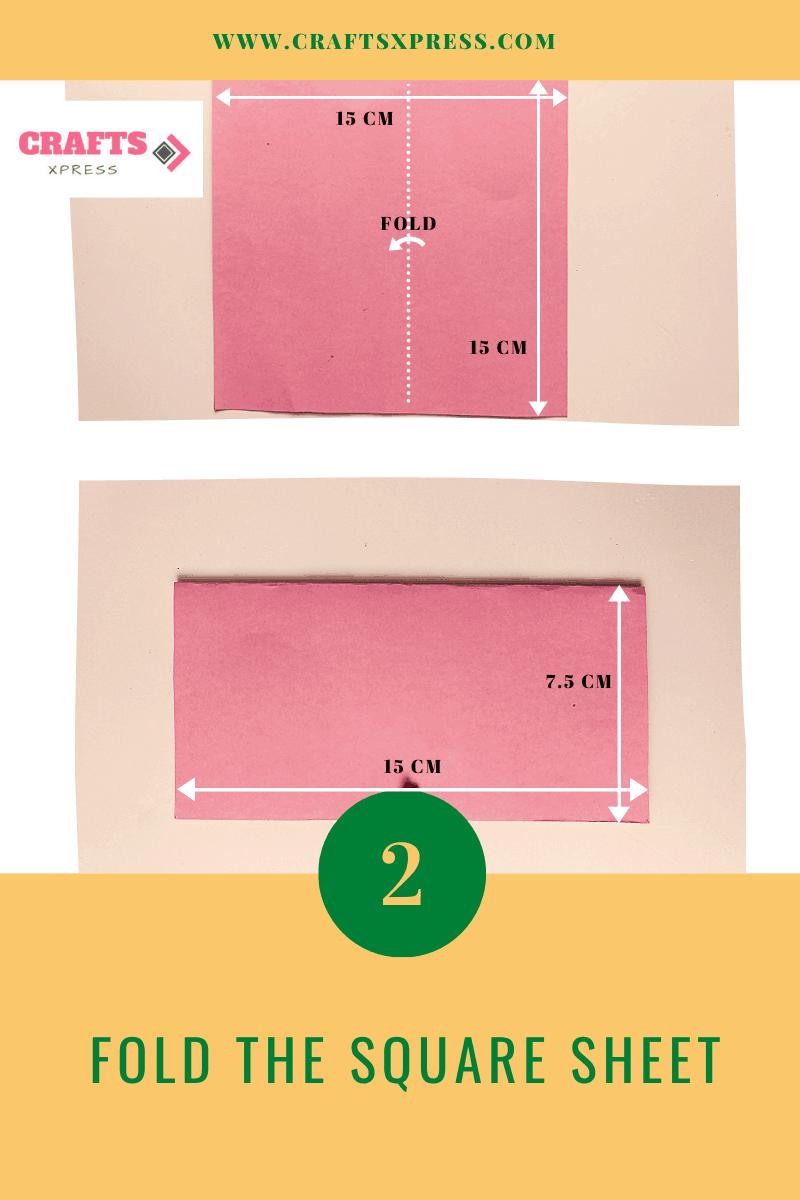 Fold the square sheet