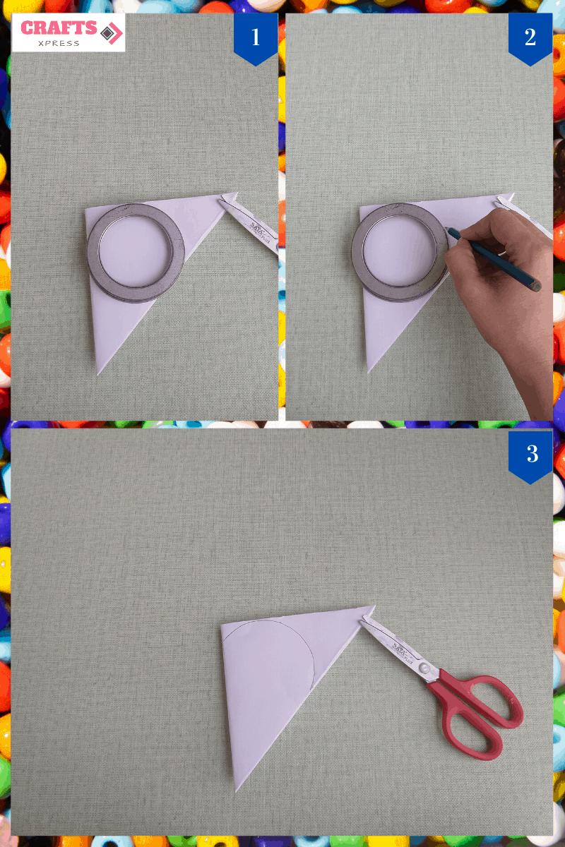 cut the paper heart