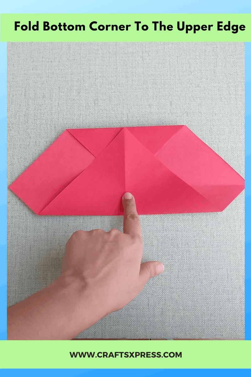fold bottom corner