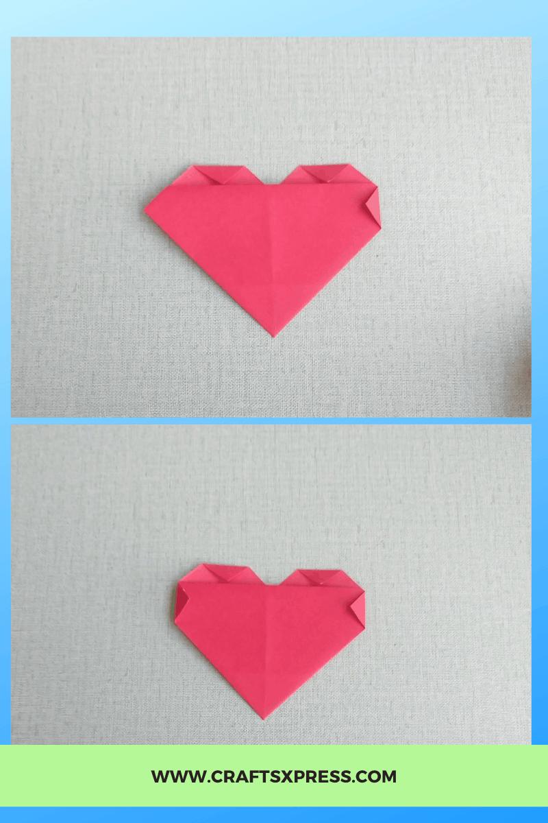 Fold side corners
