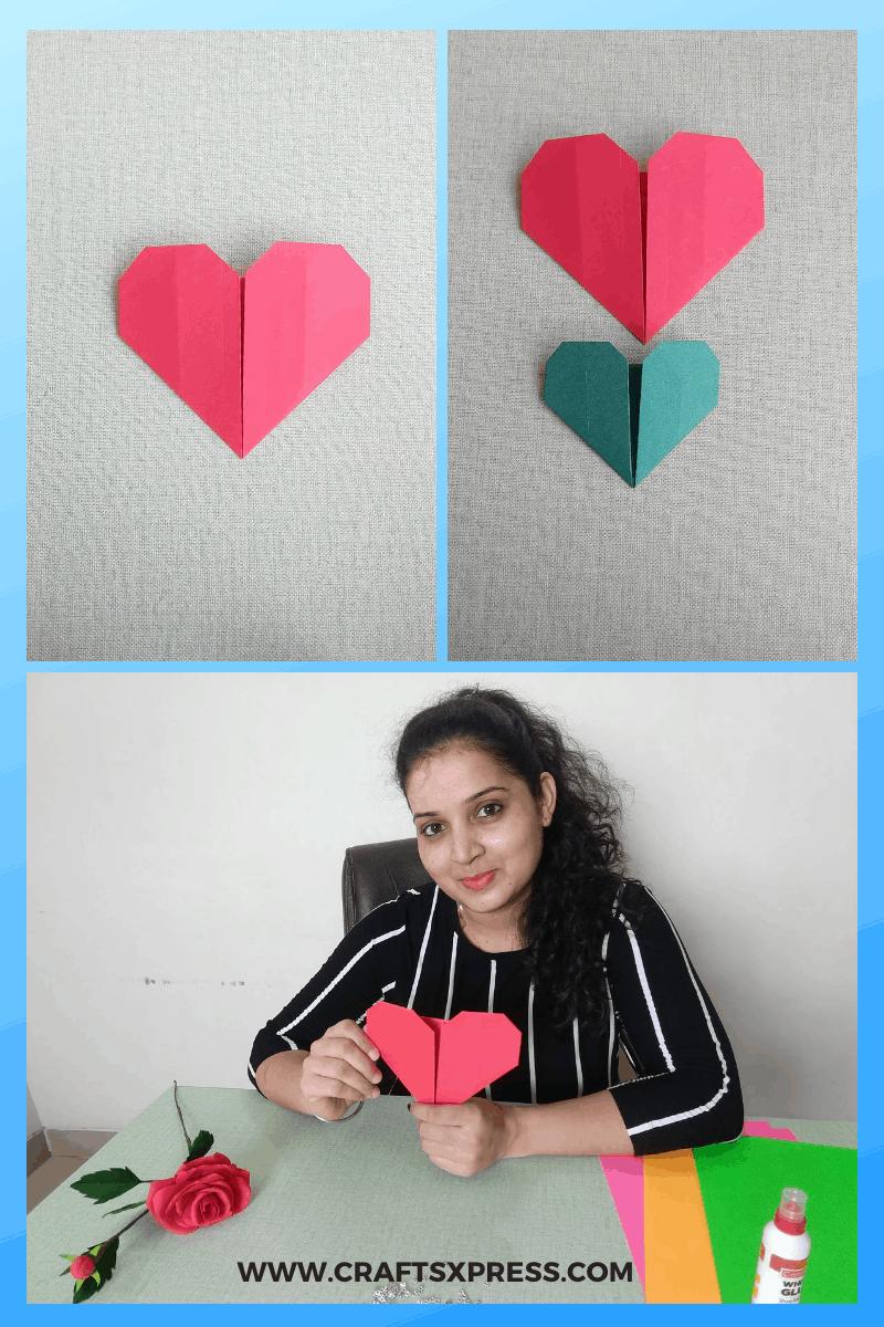 easy paper heart