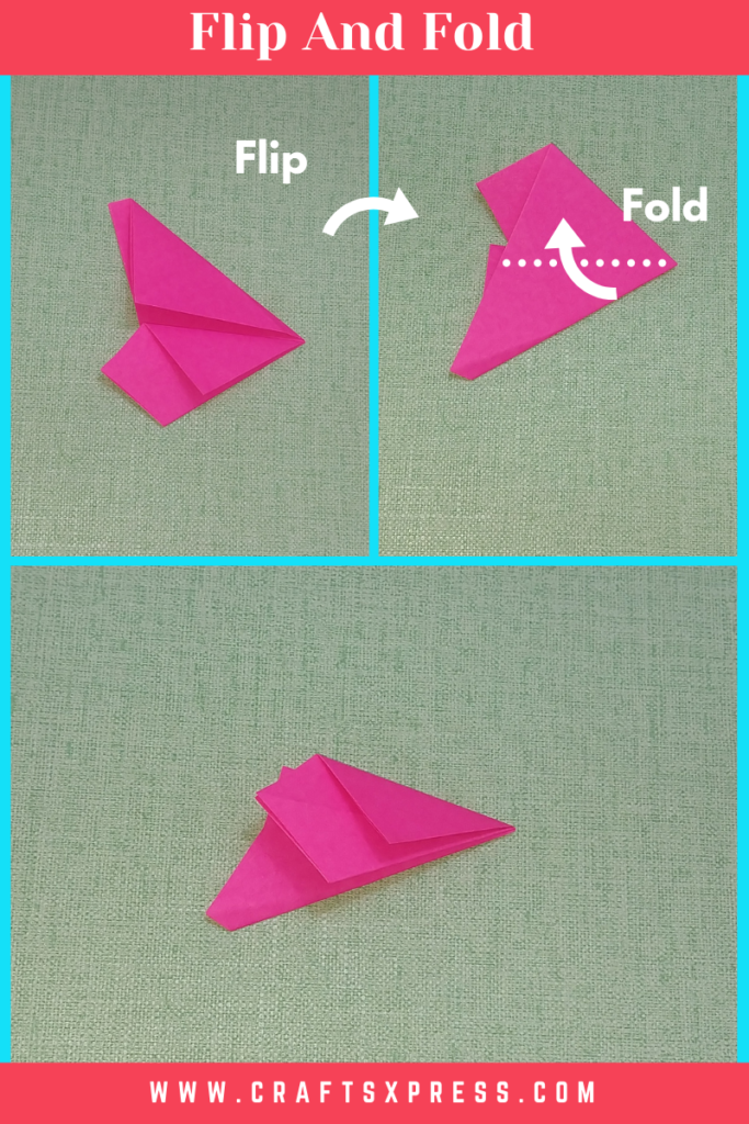 flip and fold paper star