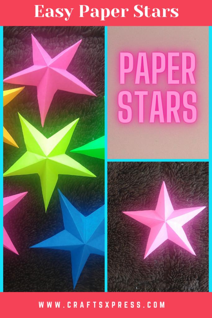 easy paper star